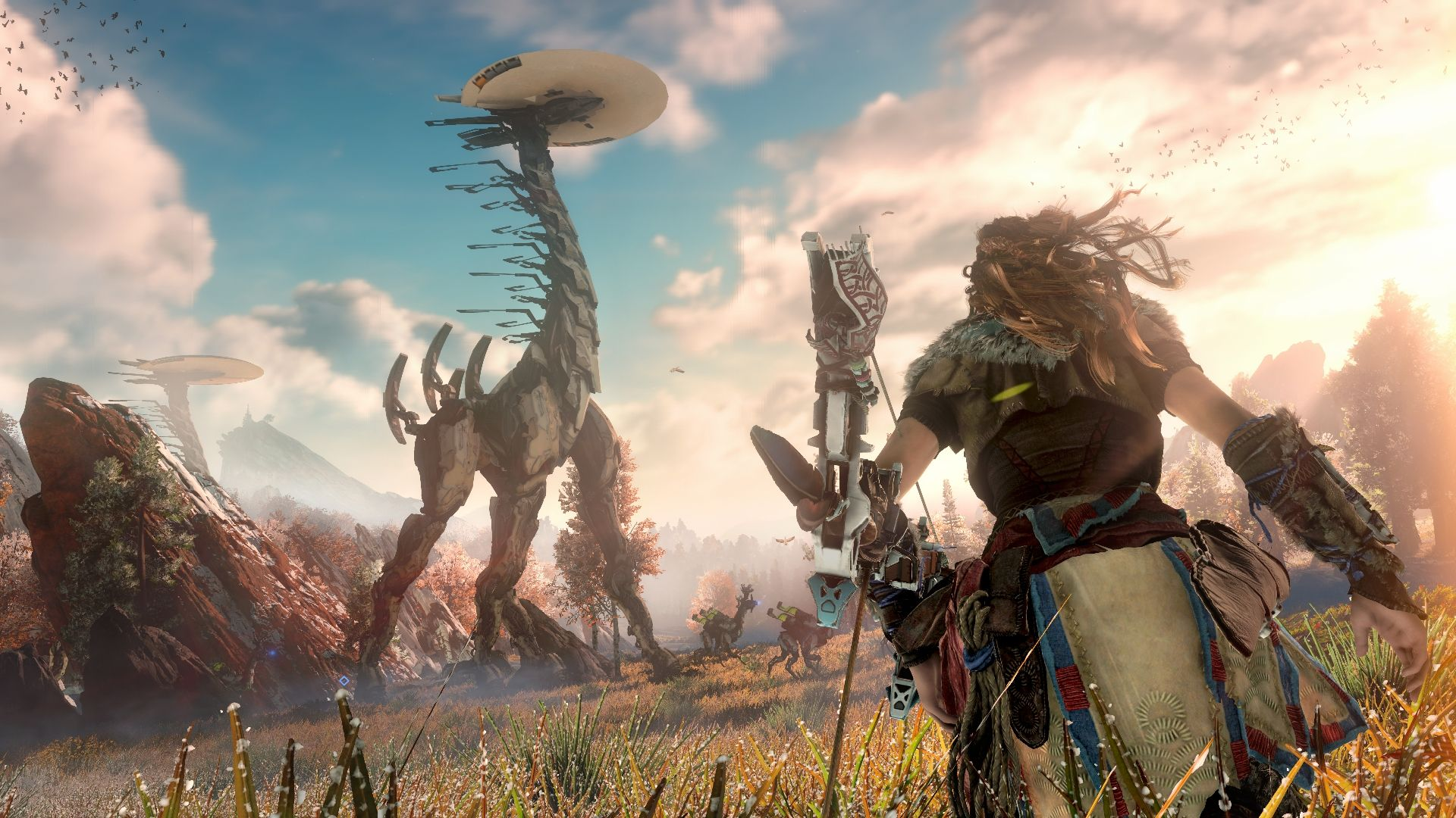 Personajes, enemigos y mas detalles en el nuevo tráiler de Horizon: Zero Dawn