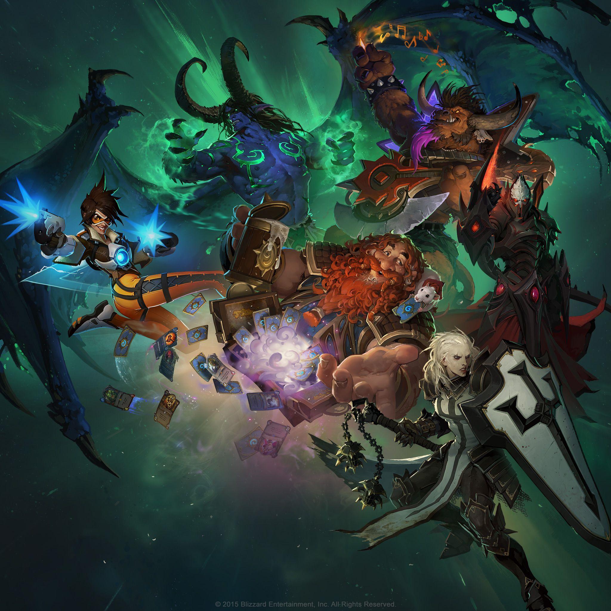Blizzard publica un impresionante fondo de pantalla con for Fondo de pantalla chulos