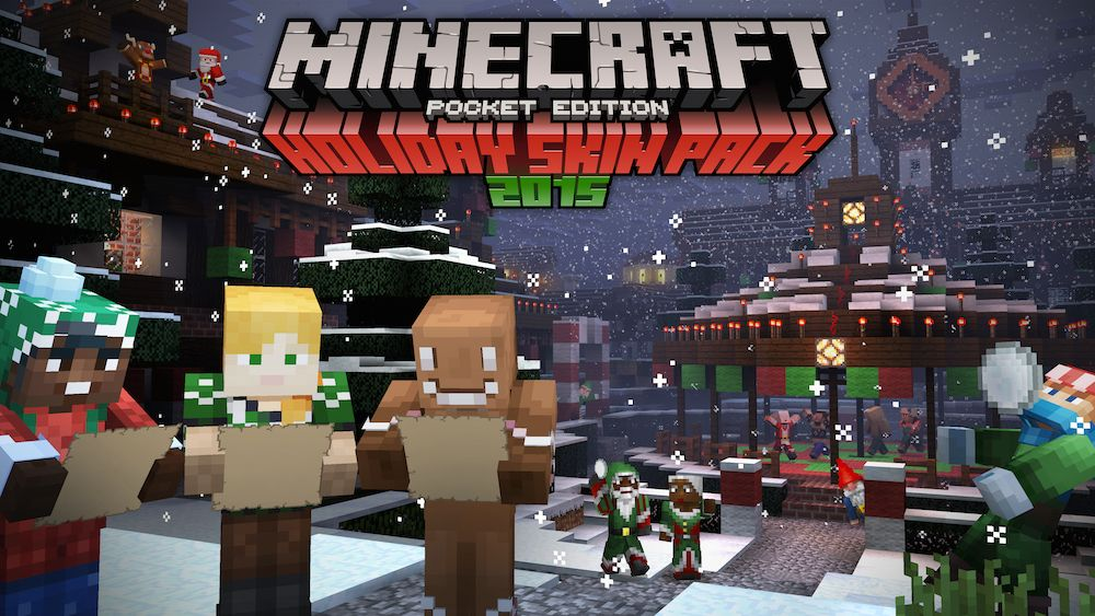Descarga El Mapa Que Crearon En Un Streaming De Mojang Haciendo Un - Skins para minecraft pe descargar gratis
