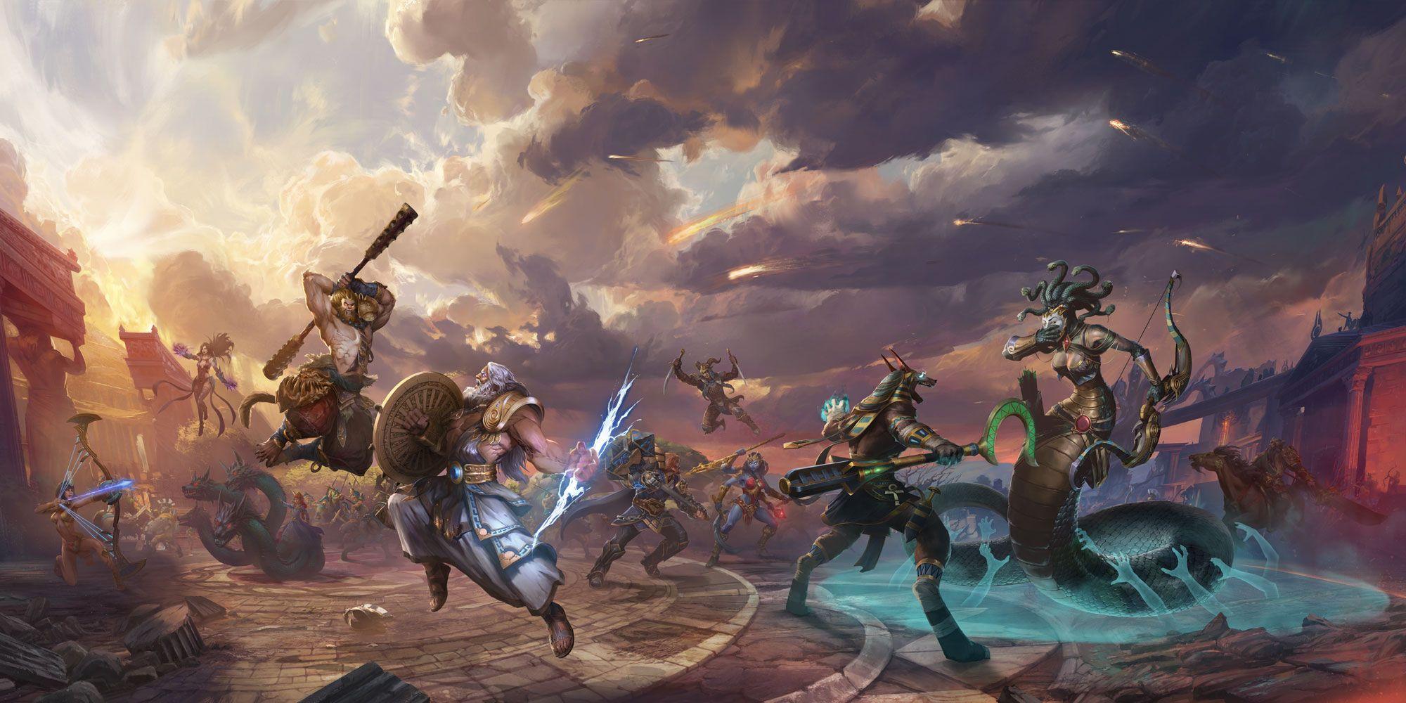 Juega gratis con todos los dioses de SMITE este fin de semana en Xbox One