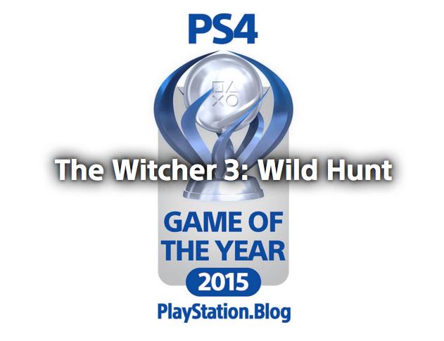 Publicados los ganadores de los premios Playstation.blog 2015 su máximo ganador, The Witcher 3