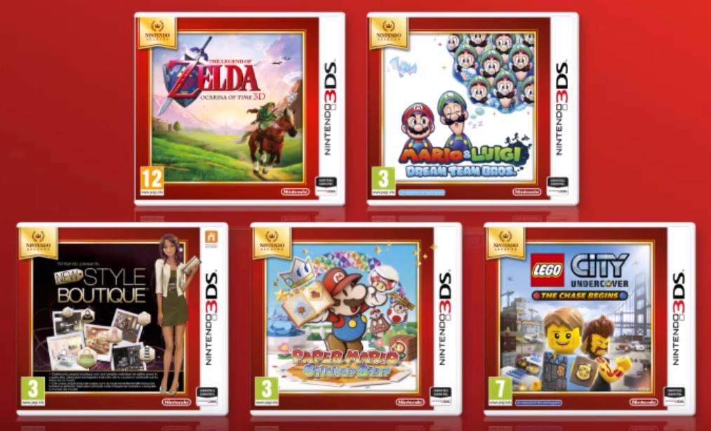 Nintendo Publica Cinco Nuevos Juegos En Nintendo Selects Para