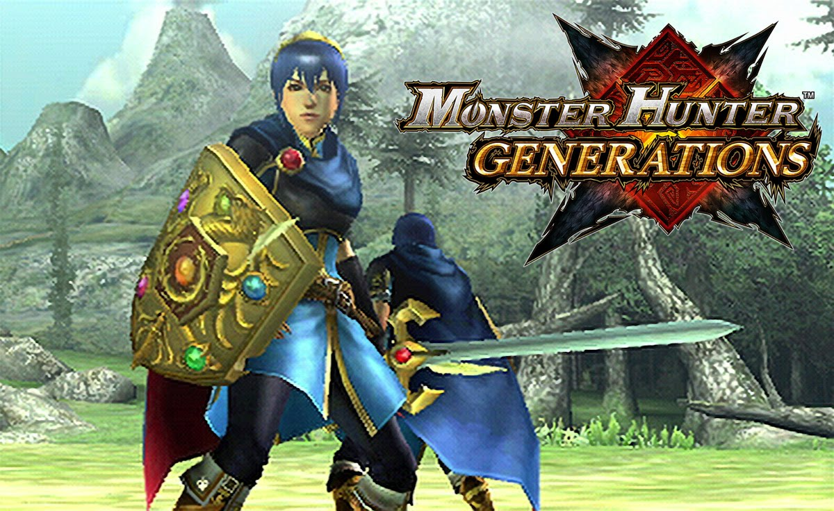 Nueva NEW Nintendo 3DS XL personalizada de Monster Hunter Generations, además Nintendo muestra un nuevo vídeo con el trailer