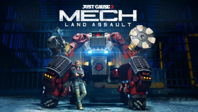 Square Enix presenta fecha y vídeo de Mech Land Assault para Justa Cause 3