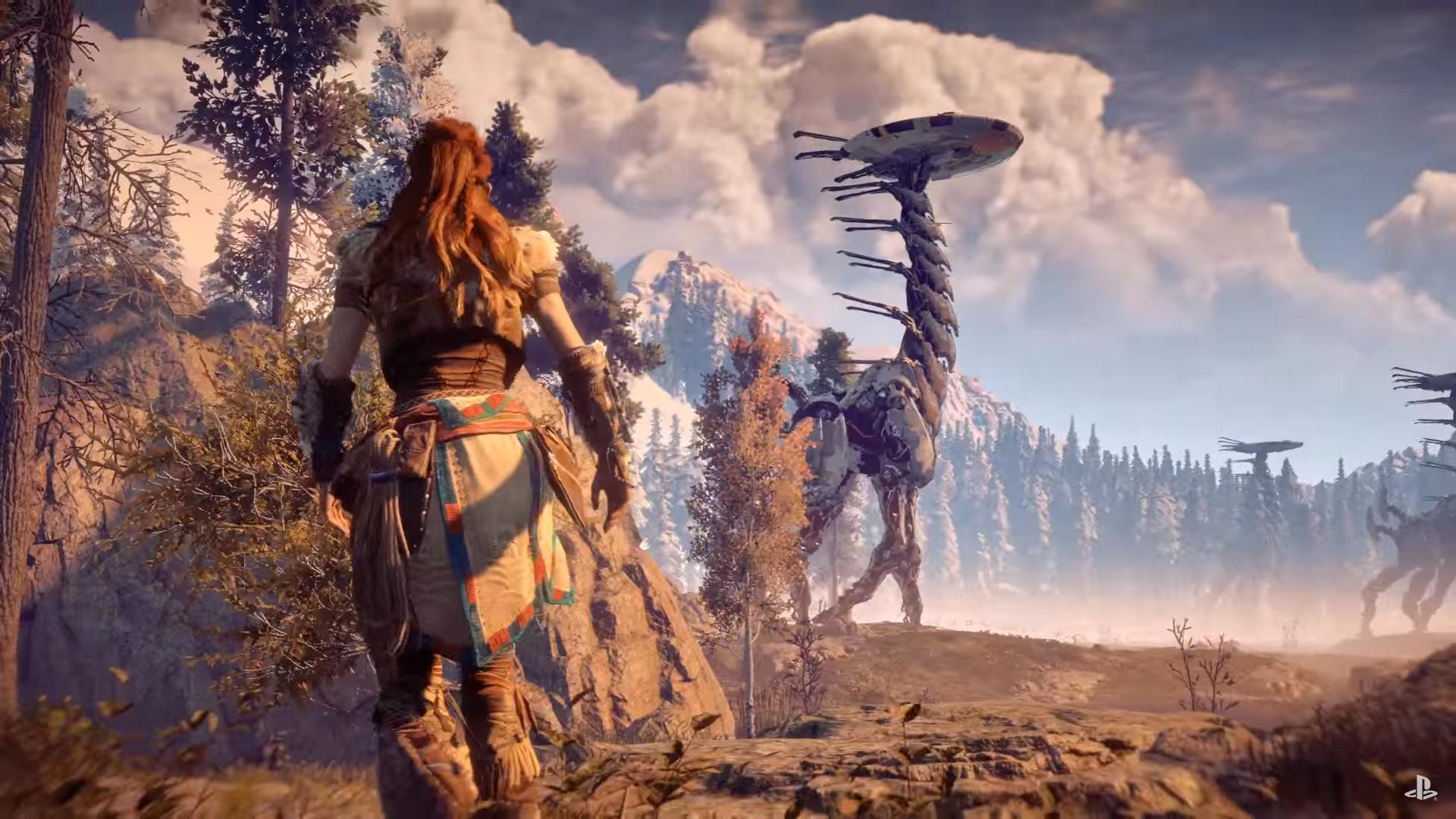Impresionante el vídeo con gameplay de Horizon Zero Dawn mostrado en la conferencia de Sony en el E3 2016