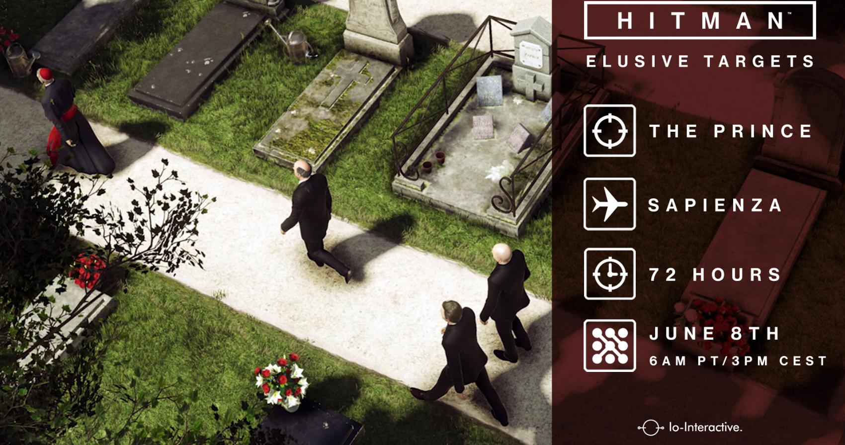 Tercer objetivo Esquivo o Elusive Target  en Hitman anunciado por Io Interactive, entérate de todo