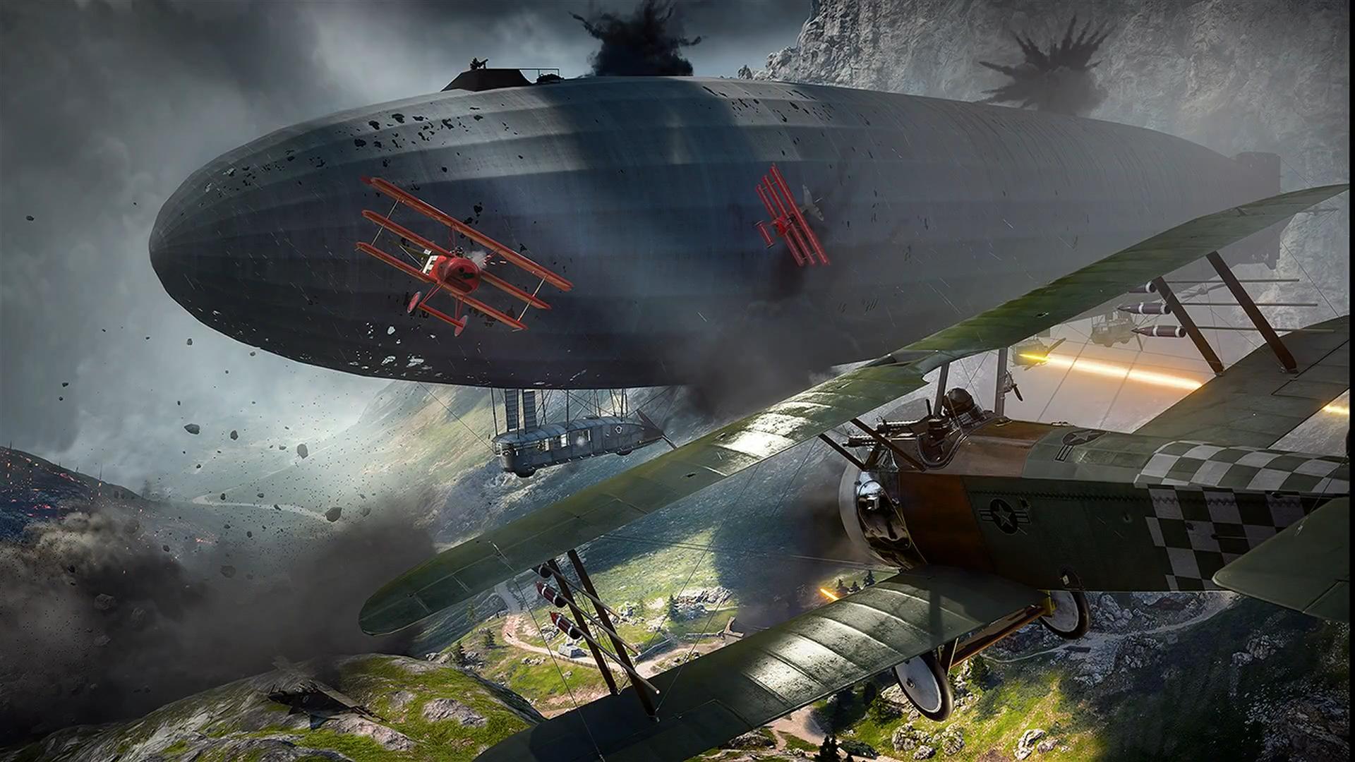 Llegan los vídeos de bug de Battlefield 1, no te pierdas el Zeprnado de fuego