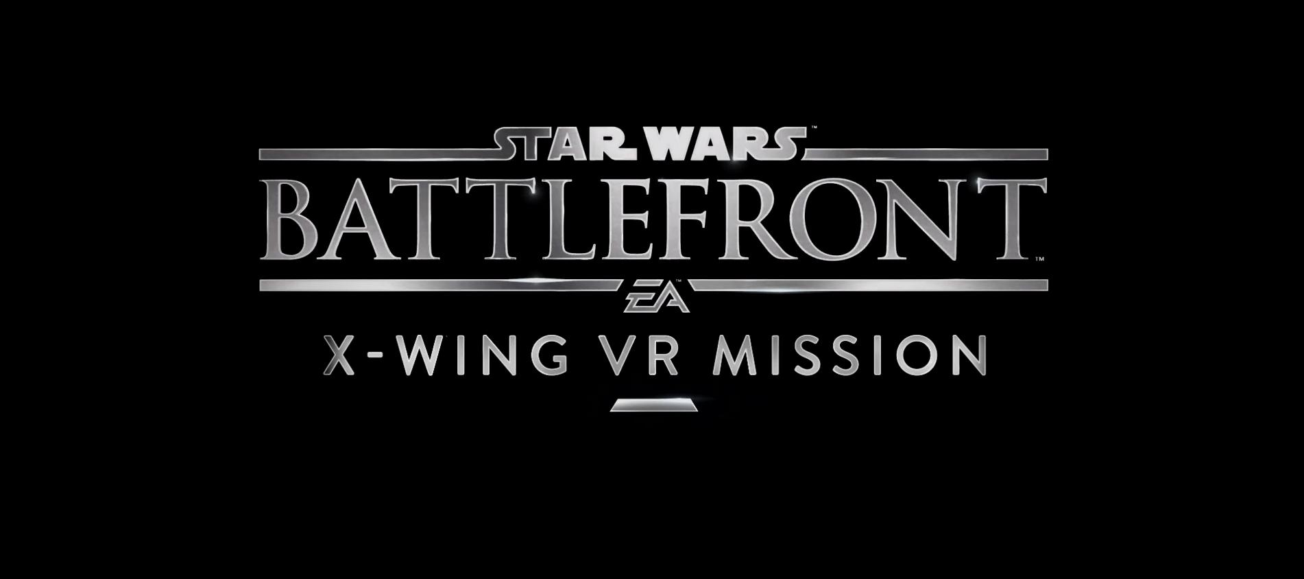 Sony publica un nuevo tráiler de Star Wars: Battlefront Rogue One – X-wing VR Mission
