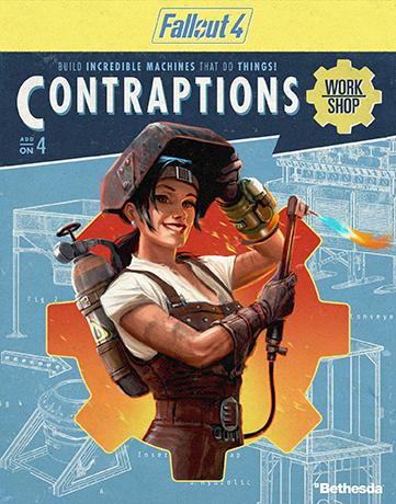 Bethesda nos enseña el lado más crafteador de Fallout 4 en un vídeo de su nueva expansión Contraptions Workshop (Taller de artilugios)