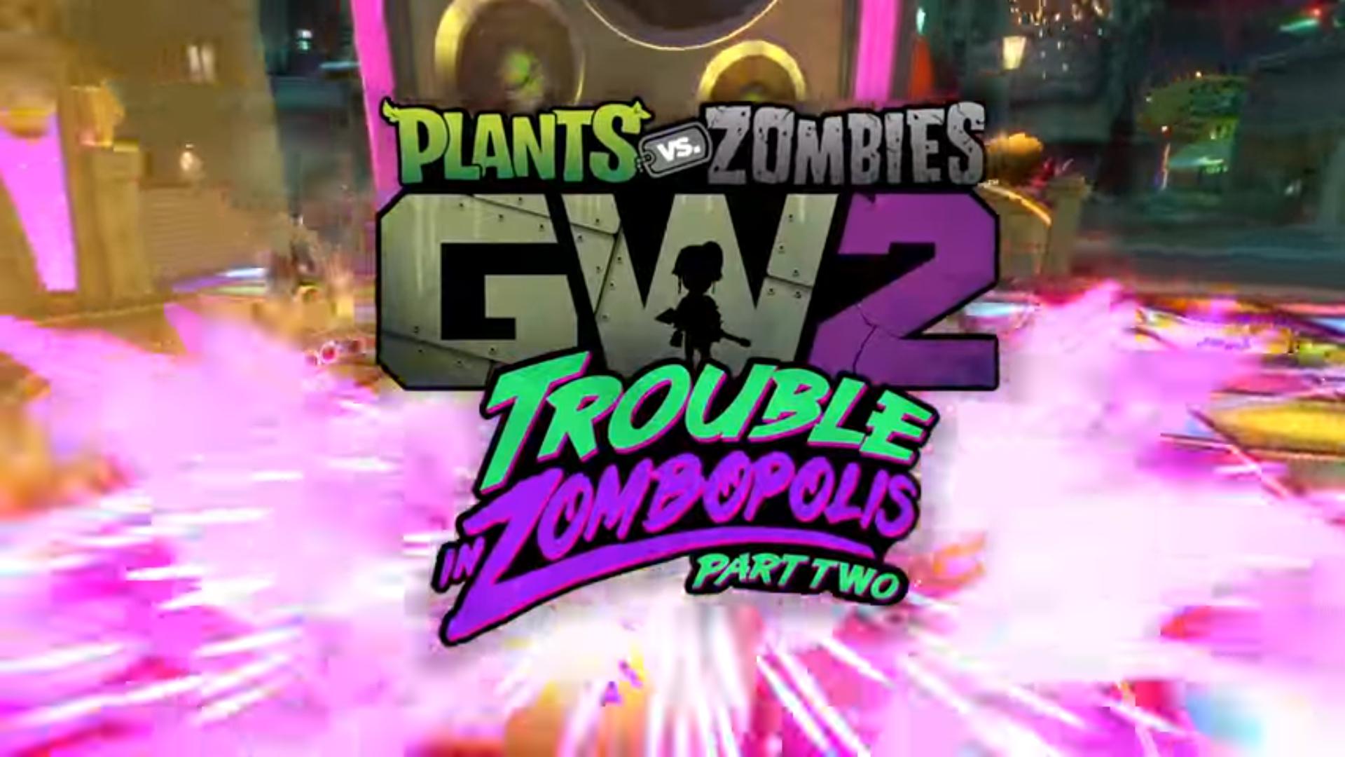 Trouble in Zombopolis parte dos, el nuevo contenido gratuito de Plants vs. Zombies Garden Warfare 2 ya está aquí, entérate de todas las novedades