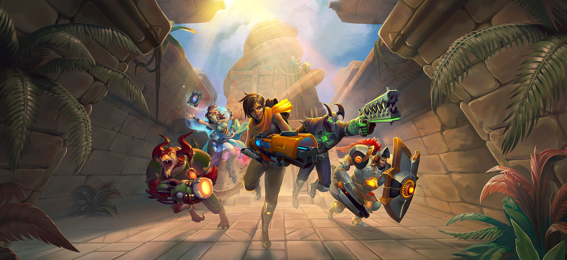 Disponible el parche 56 de Paladins en PlayStation 4 y Xbox One. Armas, competitivo y skins
