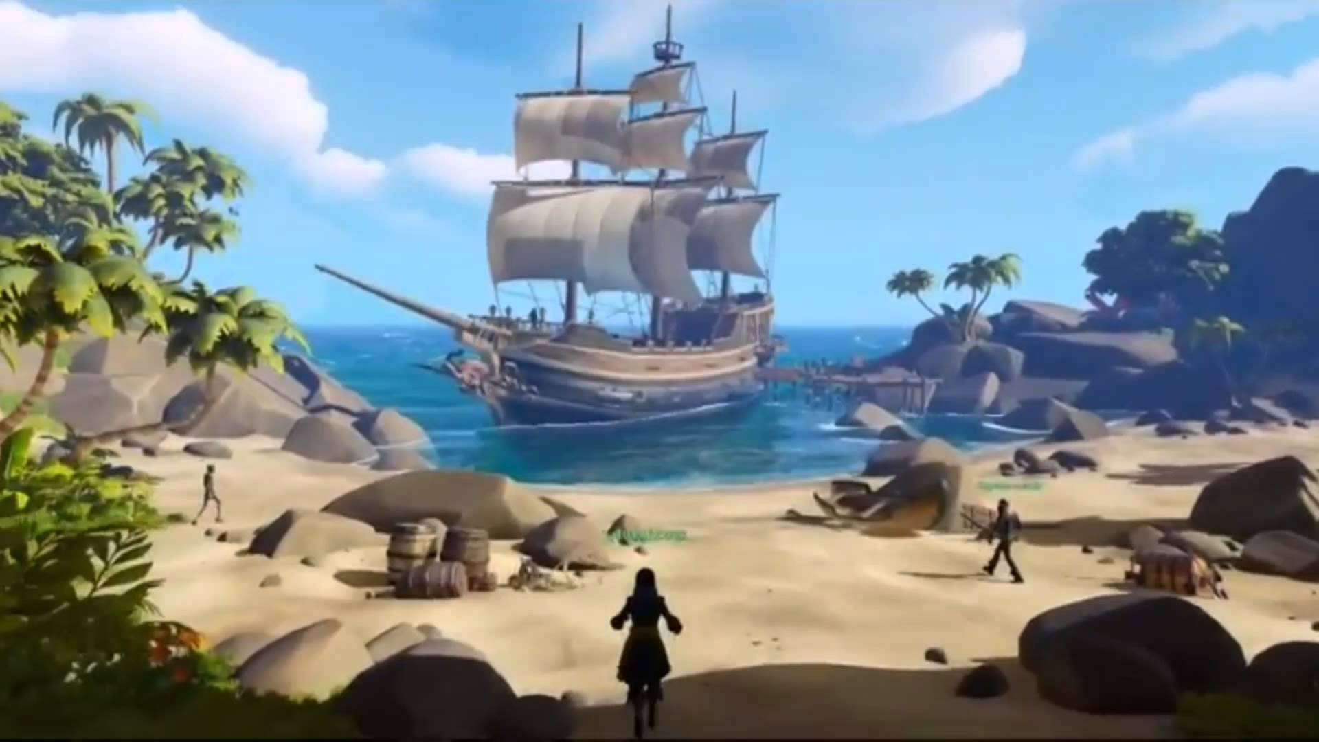 Sea of Thieves tendrá crossplay entre Xbox One y Windows 10