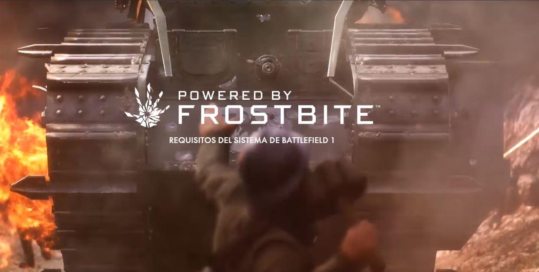 Publicados los requisitos mínimos finales de Battlefield 1, prepara un PC potente para disfrutarlo a tope.