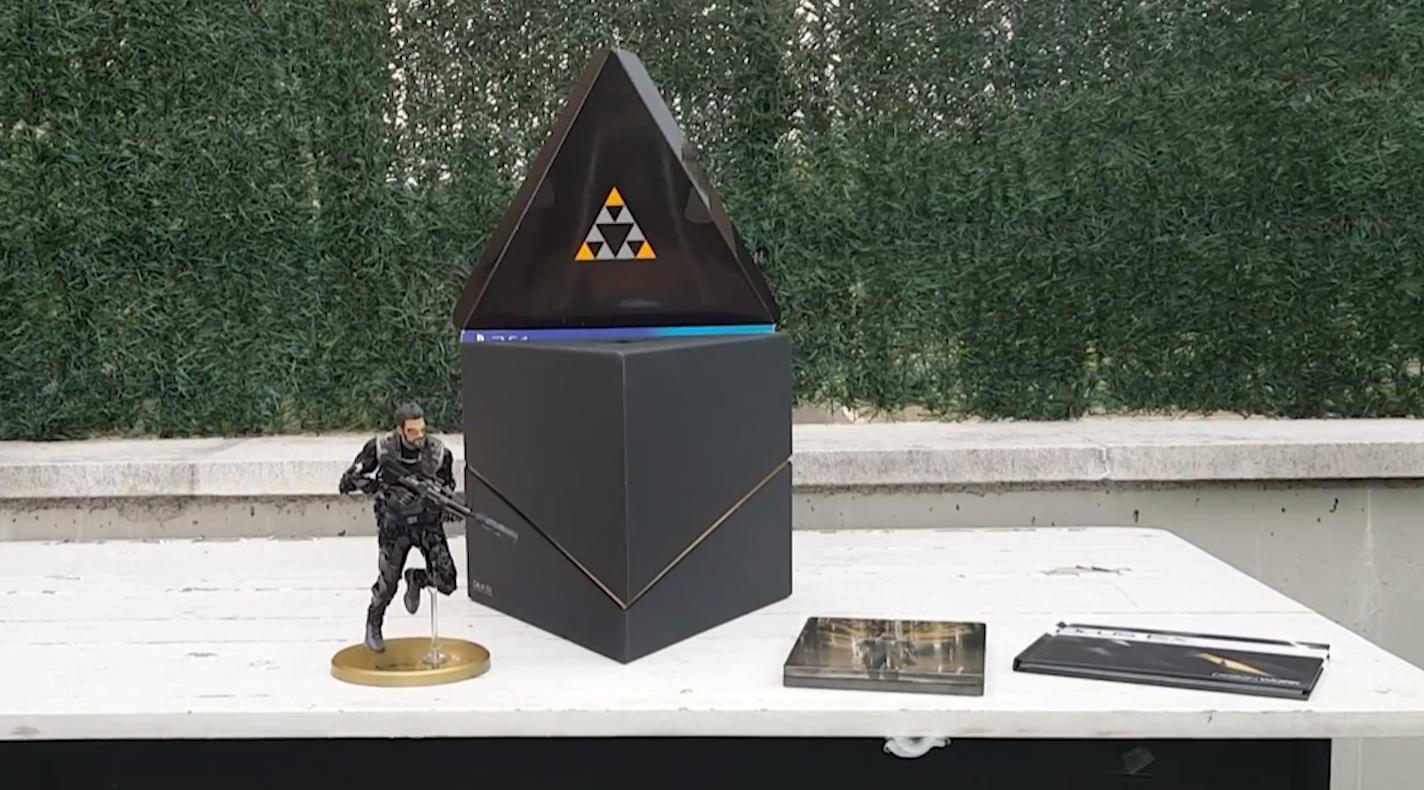 Unboxing de la edición coleccionista de Deus Ex: Mankind Divided de PlayStation 4