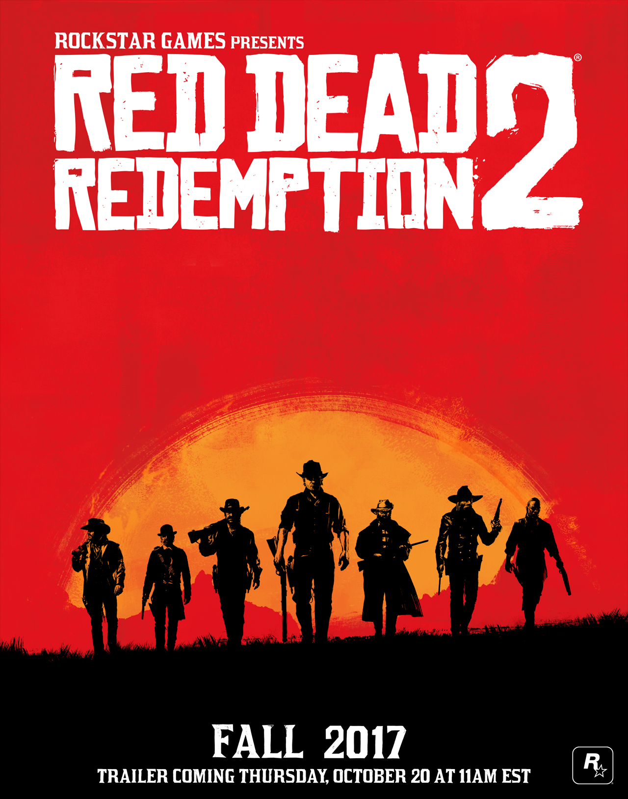 Red Dead Rendemption 2 confirmado para otoño de 2017