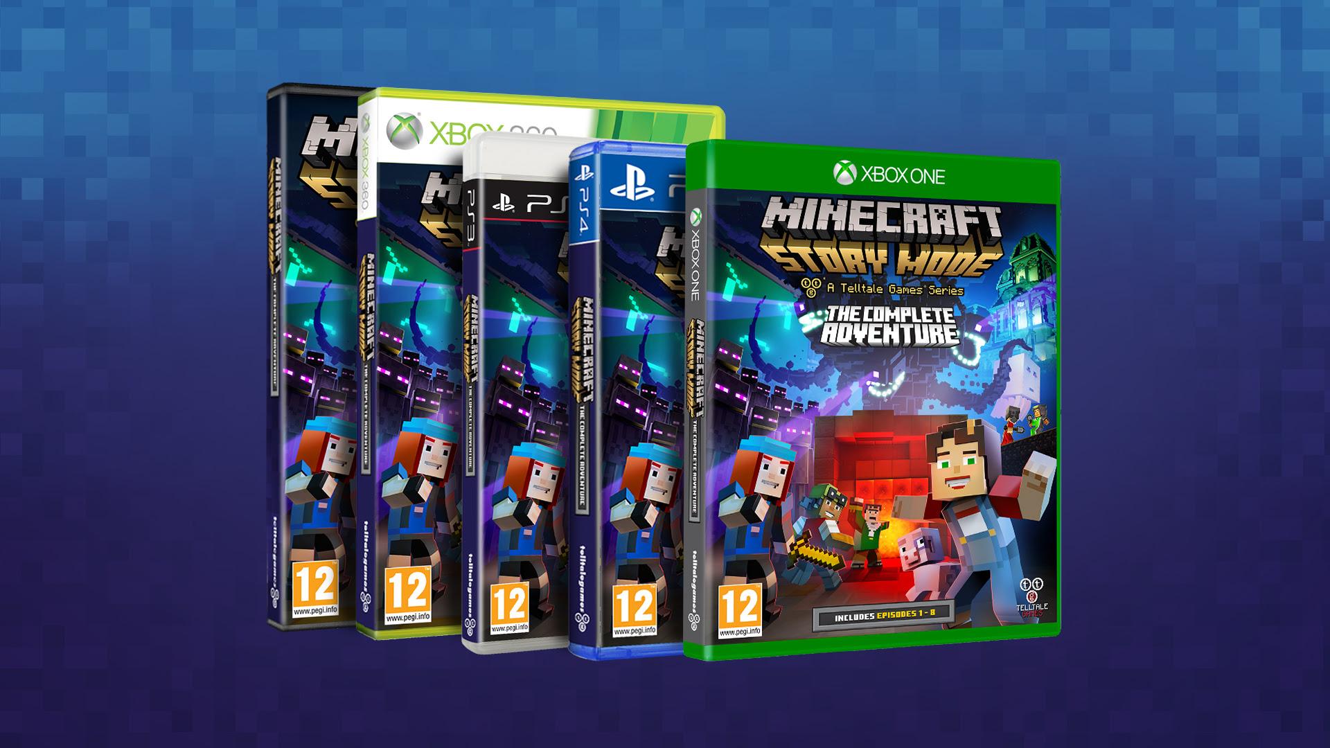 Minecraft: Story Mode – The Complete Adventure ya disponible en formato físico junto a su tráiler de lanzamiento en Europa