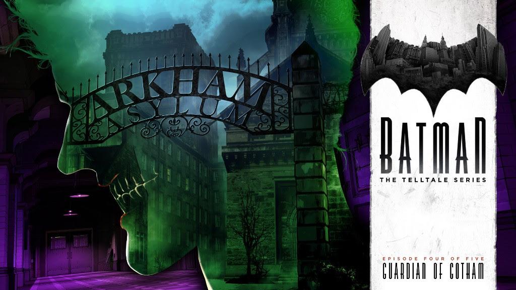 """Telltale Games publica la fecha y el vídeo de lanzamiento de BATMAN – The Telltale Series Episode 4: """"Guardian of Gotham"""""""