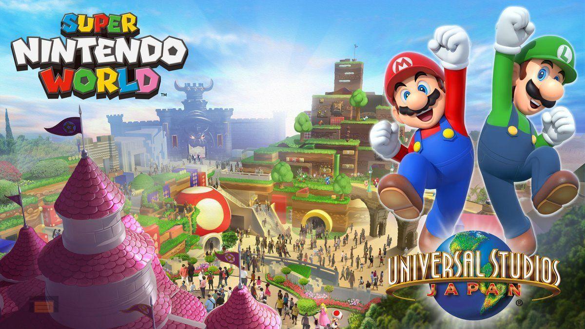 Universal Studios de Osaka será el primer parque en recibir Super Mario World