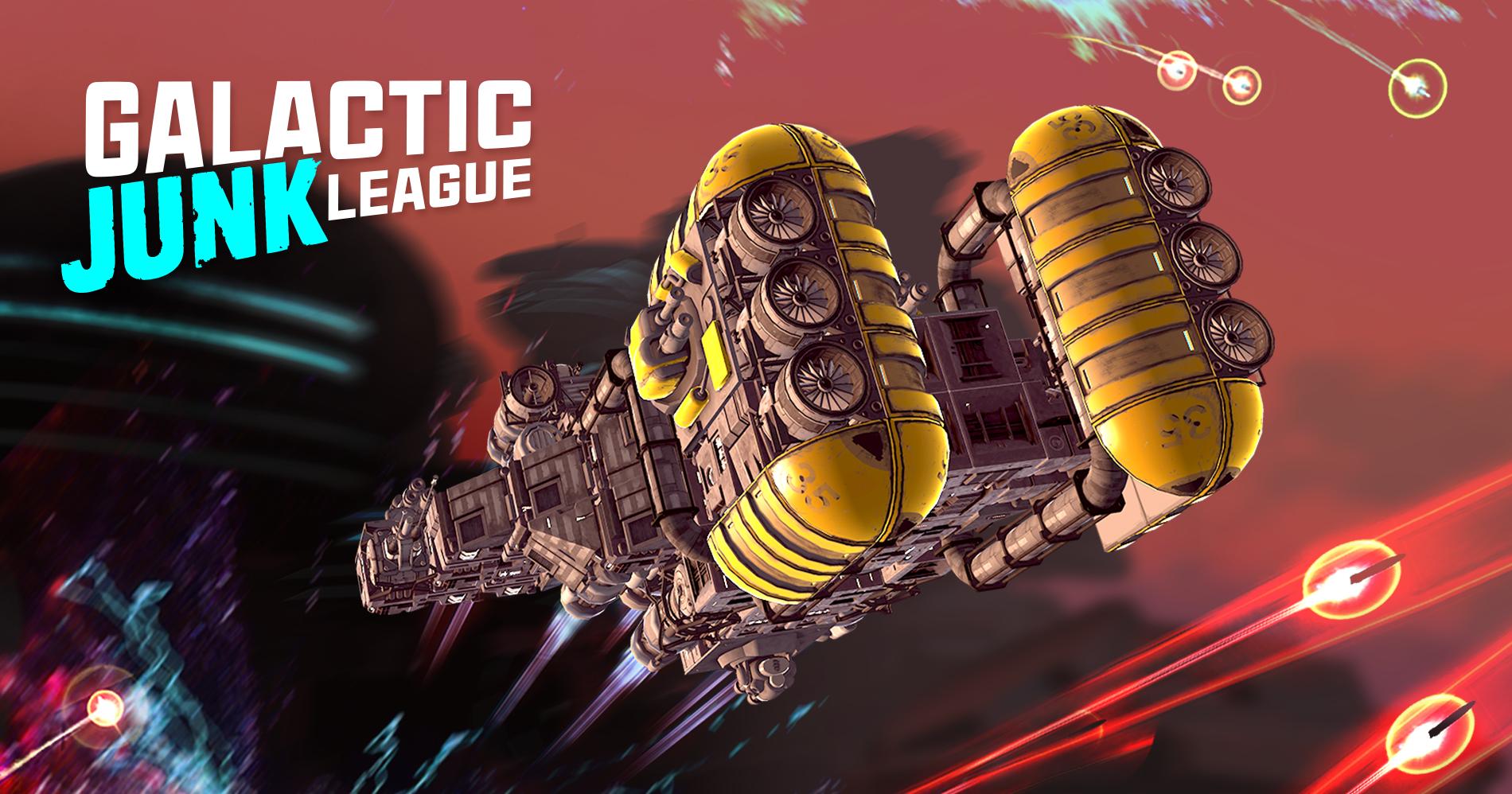 Construye tu propia nave y enfrentate a tus enemigos en Galactic Junk League. Fechas y detalles