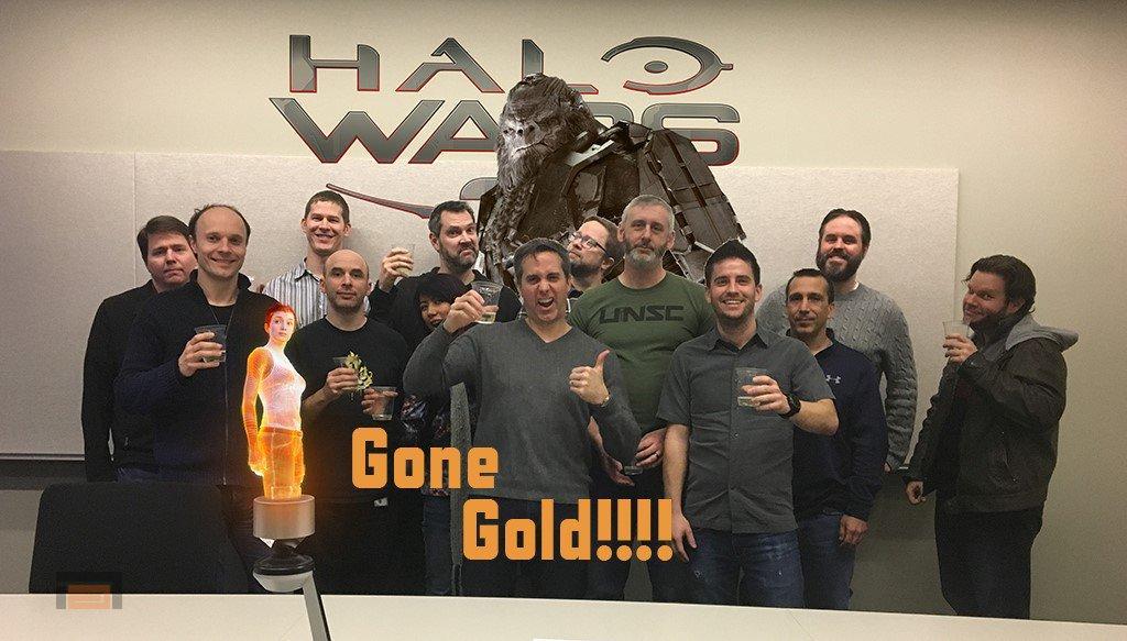 Halo Wars 2 llega a su versión Gold, o lo que es lo mismo, listo para tostar Blu-Rays
