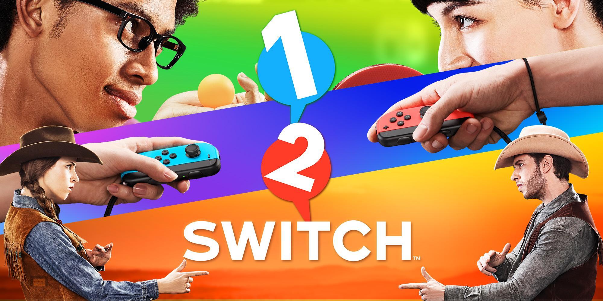 1-2-Switch tendrá cerca de 30 minijuegos. Puedes verlos en su nuevo tráiler