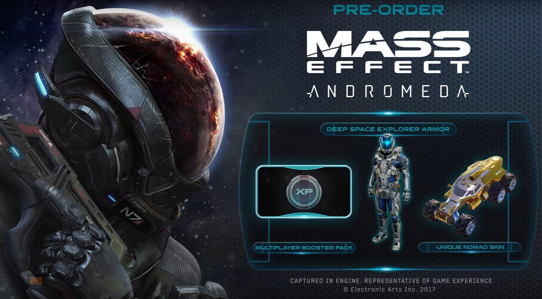 Imágenes del Multiplayer de Mass Effect: Andromeda en el trailer de Reserva publicado