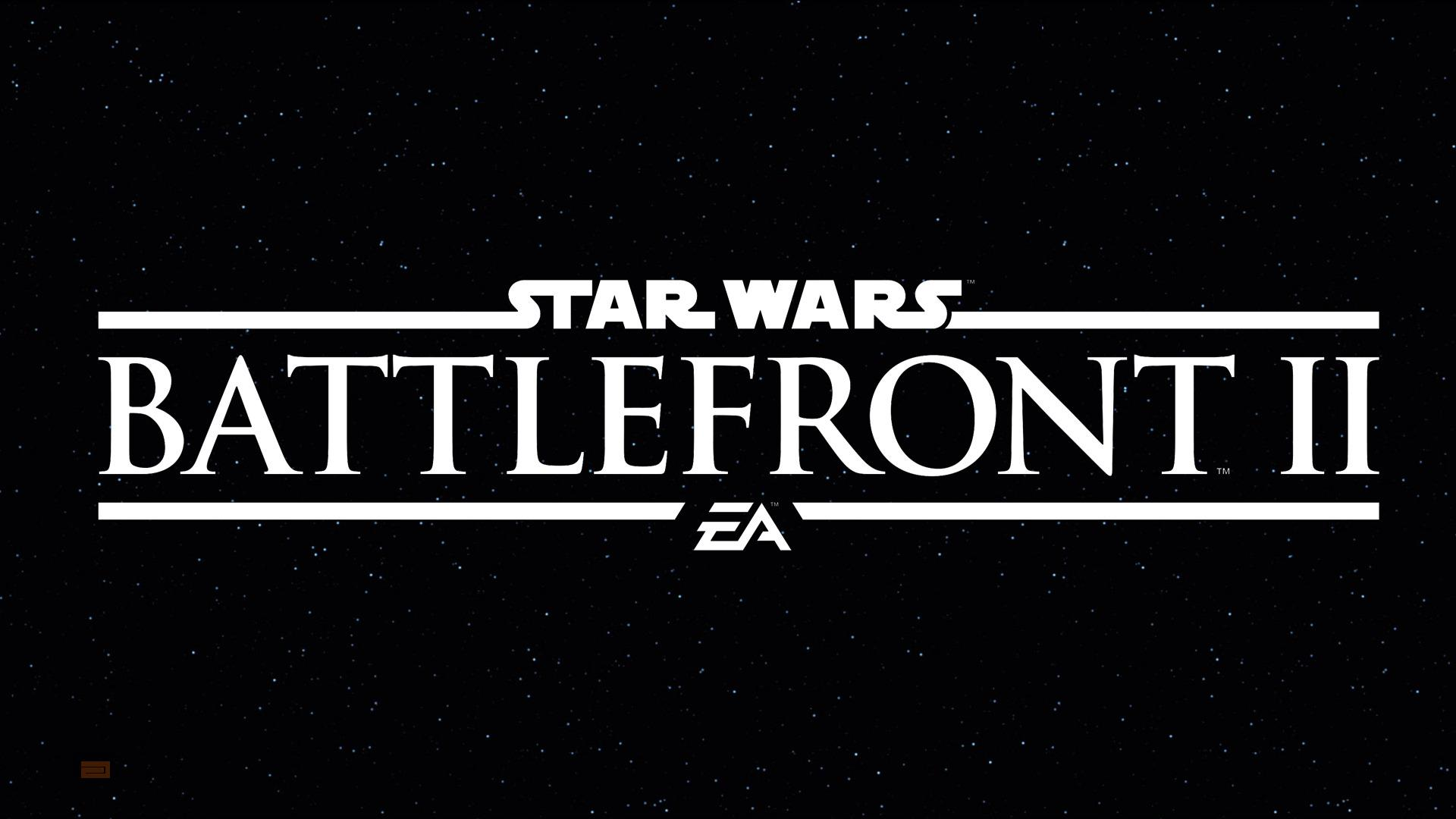 Filtrado el primer tráiler de Star Wars: Battlefront II