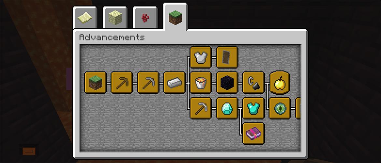 Libera la nueva snapshot 17w17a de Minecraft 1.12. Consigue todos los advancements