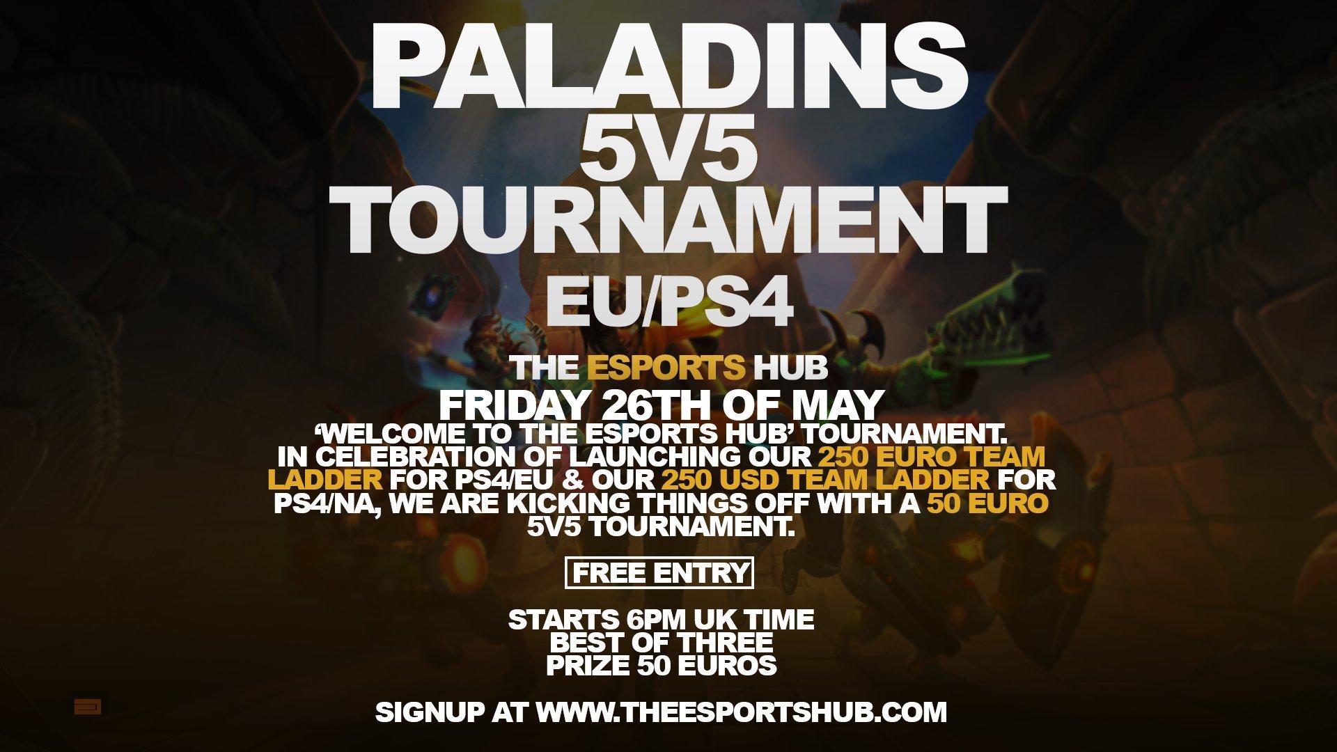 Torneo en Europa de Paladins en Playstation 4 el 26 de Mayo, ¡¡¡Prepara tus mejores mazos!!!