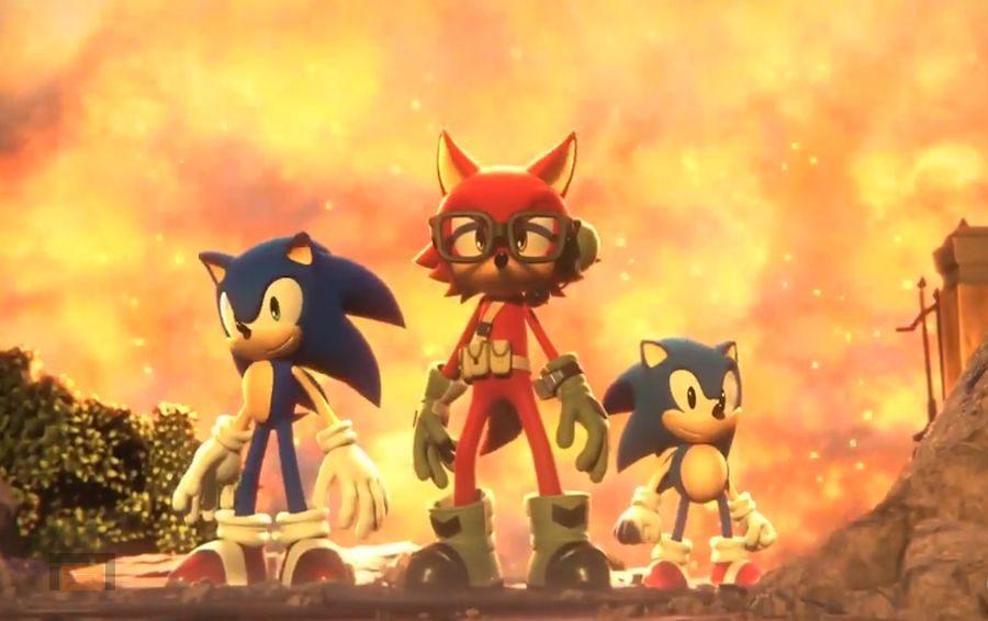Sega muestra un personalizador de personajes para Sonic Forces