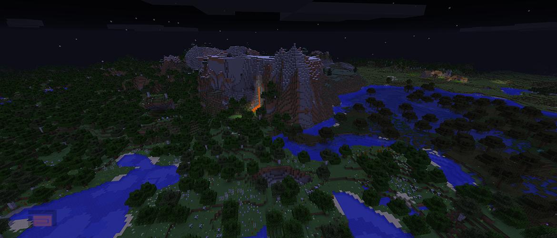 Minecraft 1.12 pre-release 6 liberada. Los créditos en el copyright