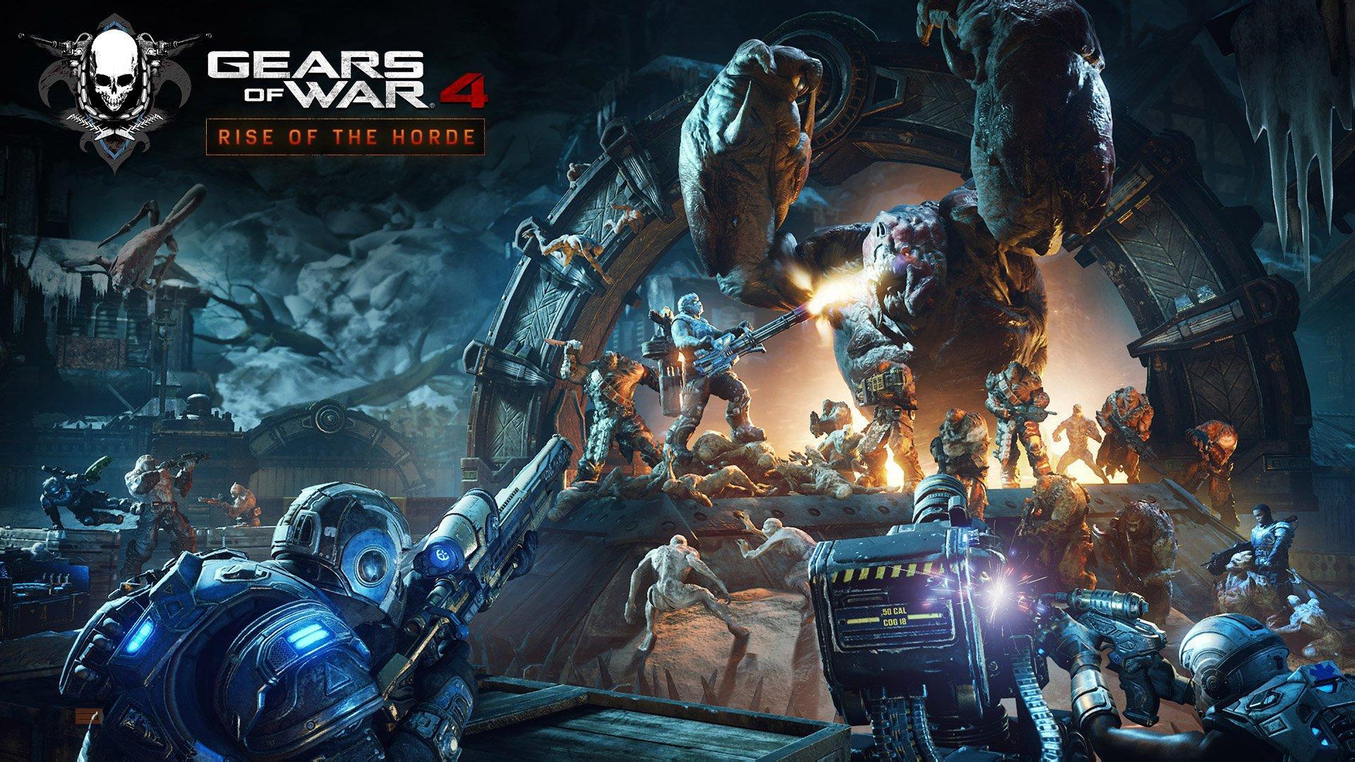 Gears of War 4 recibirá una gran actualización a la Horda y una prueba de 10 hora muy pronto