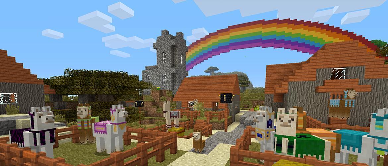 Nueva actualización de Minecraft Console Edition. Loros, llamas, mansiones, Vindicator, Vex, Evoker y mucho mas