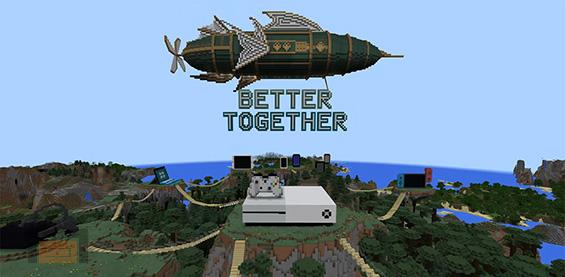 Minecraft Better Together Update. Multijugador entre consolas y mucho mas, entérate de todas las novedades