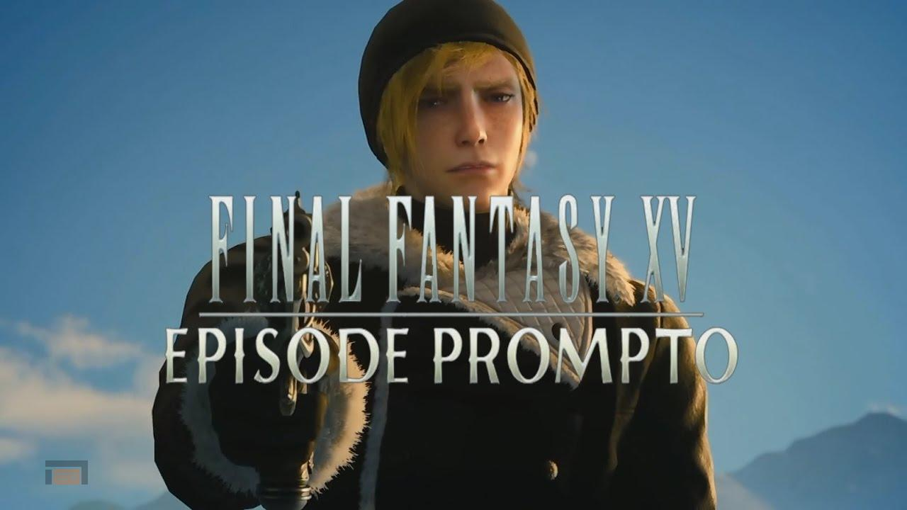 Gameplay de mas de 6 minutos del nuevo DLC de Final Fantasy XV, Episodio Prompto