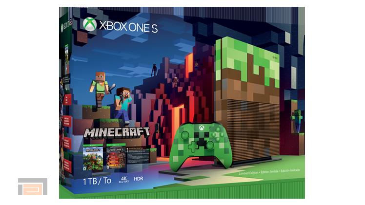 Xbox One s Minecraft edición limitada presentada en la Gamescom 2017, entérate de todos los detalles