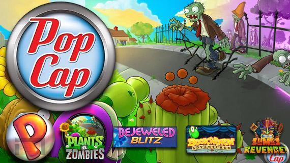 PopCap retira Plants vs. Zombies, Peggle Classic y Solitaire Blitz de las tiendas de la Play y Apple Store
