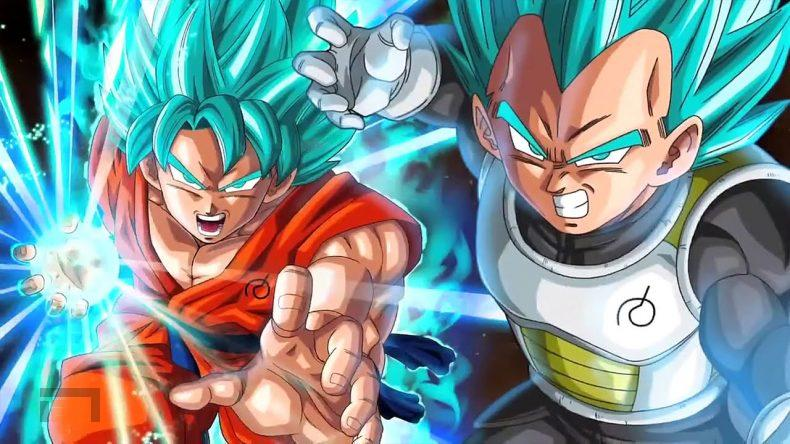 Tráiler de Dragon Ball FighterZ mostrando a Goku Super Saiyan Azul y a Vegeta Super Saiyan Azul