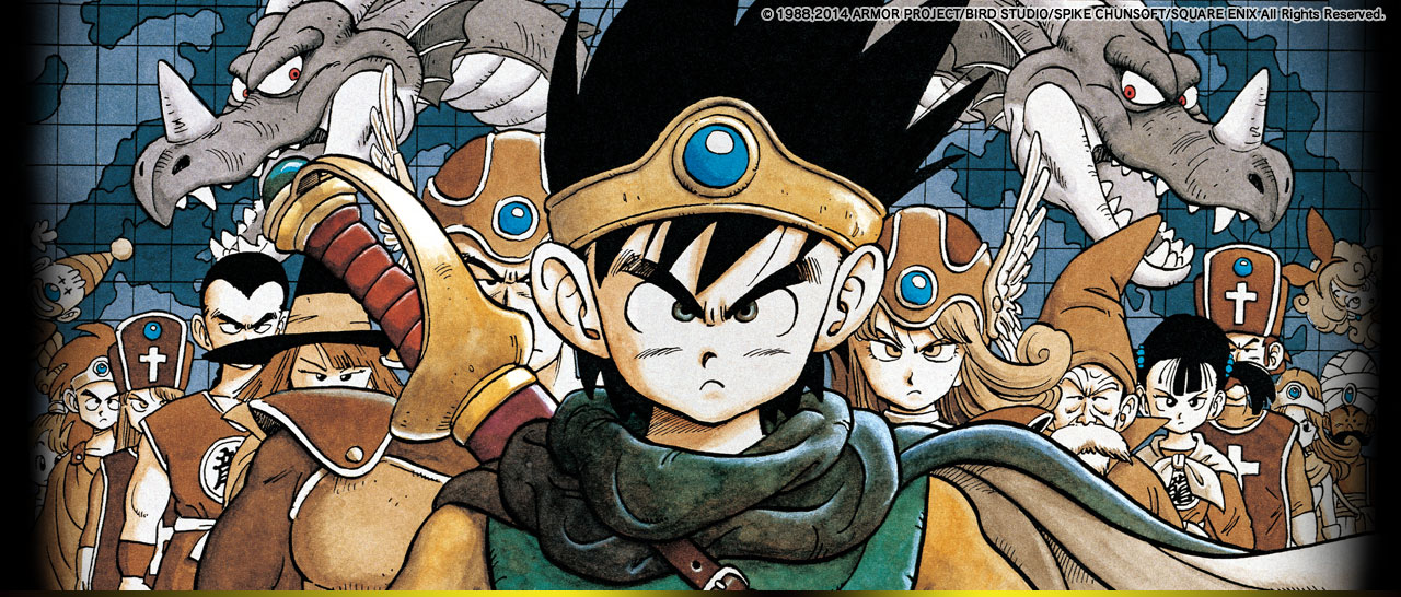 Dragon Quest, Dragon Quest II, Dragon Quest III y Dragon Quest Builders 2 anunciados