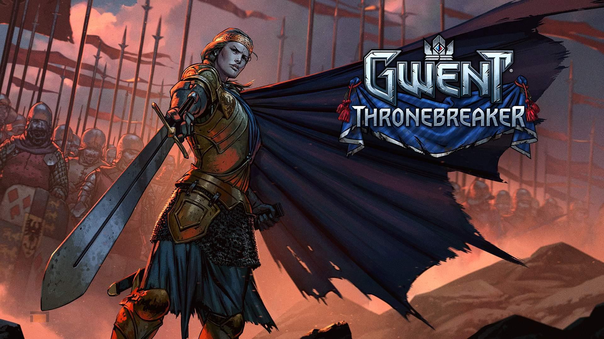 Gwent tendrá modo historia y se llamará Thronebreaker. Además anunciados torneos públicos.