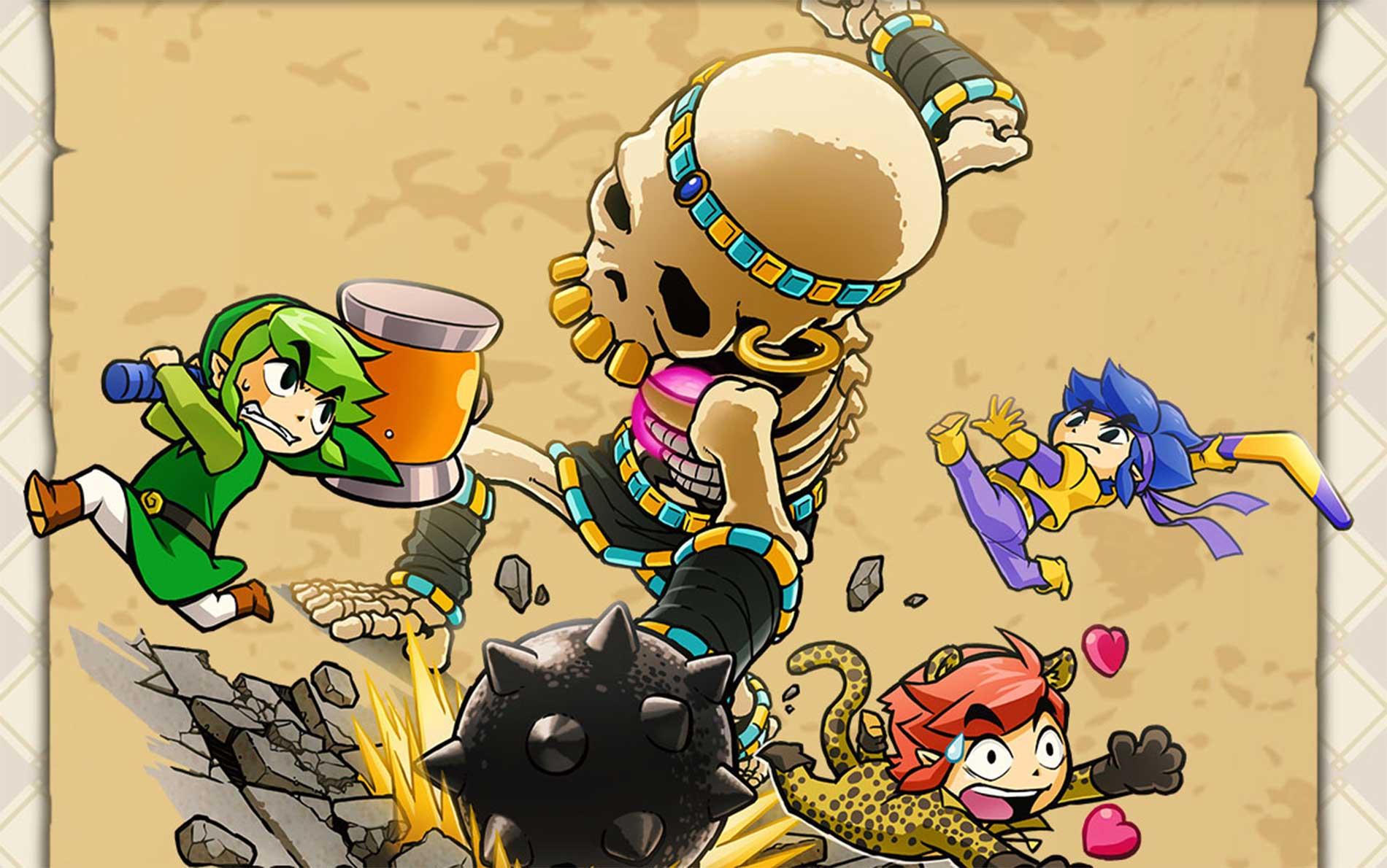 Modo «Un jugador» en el The Legend Of Zelda: Tri Force Heroes