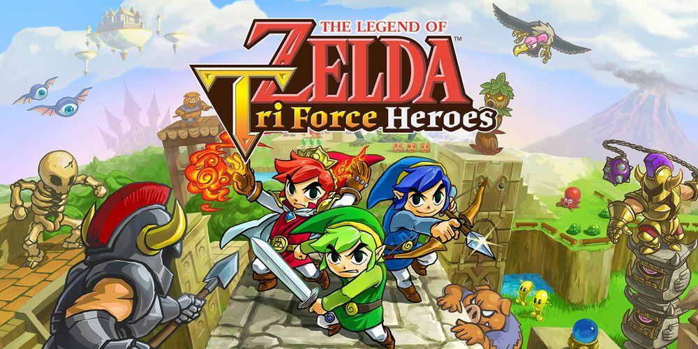 Enorme cantidad de novedades en esta actualización gratuita de The Legend of Zelda: Tri Force Heroes
