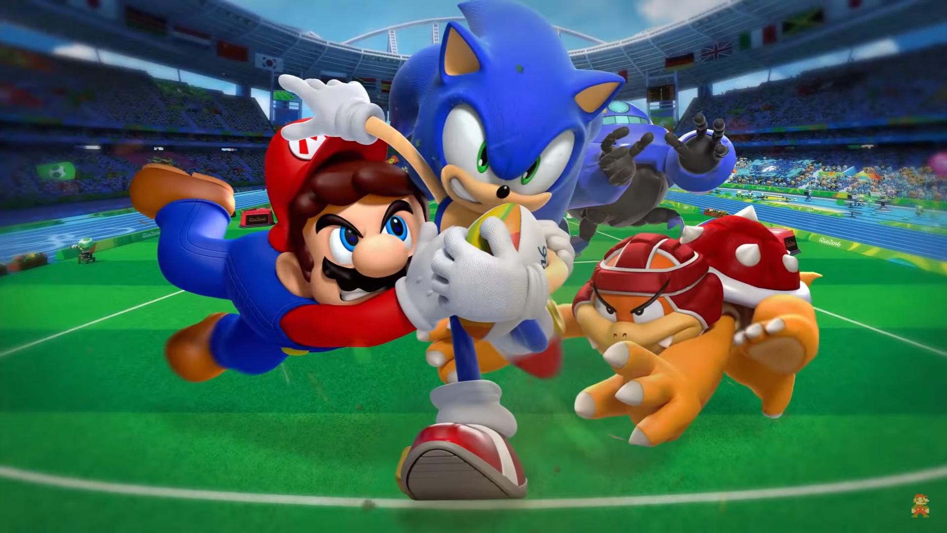 Ya disponible Mario & Sonic en los Juegos Olímpicos: Rio 2016 para Wii U