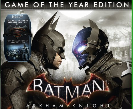 Filtrada la fecha de lanzamiento de Batman: Arkham Knight – Game of the Year Edition GOTY, nueva cagada de Amazon