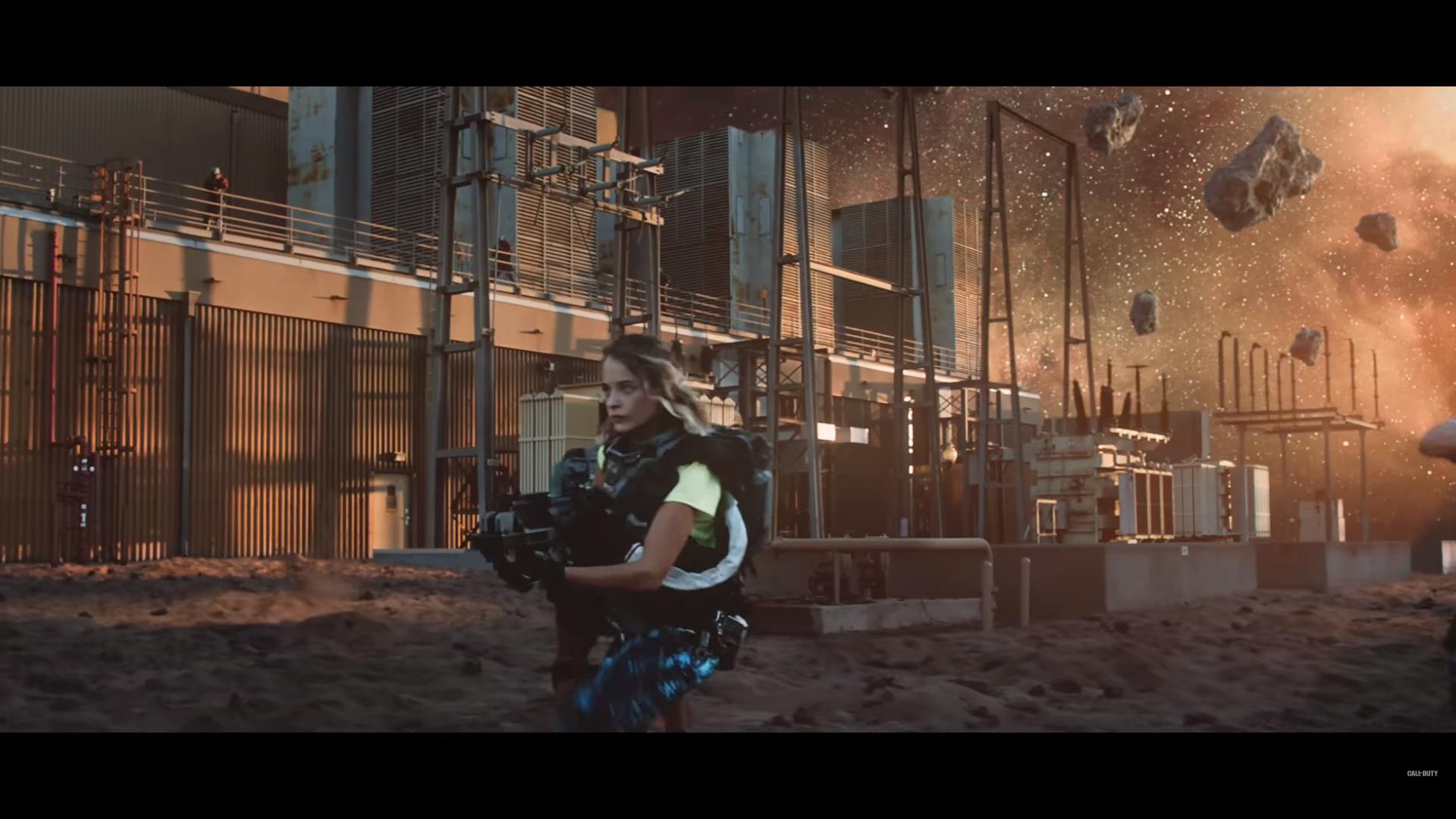 No te pierdas el tráiler de acción real de Call of Duty: Infinite Warfare con Danny McBride y Michael Phelps como protagonistas