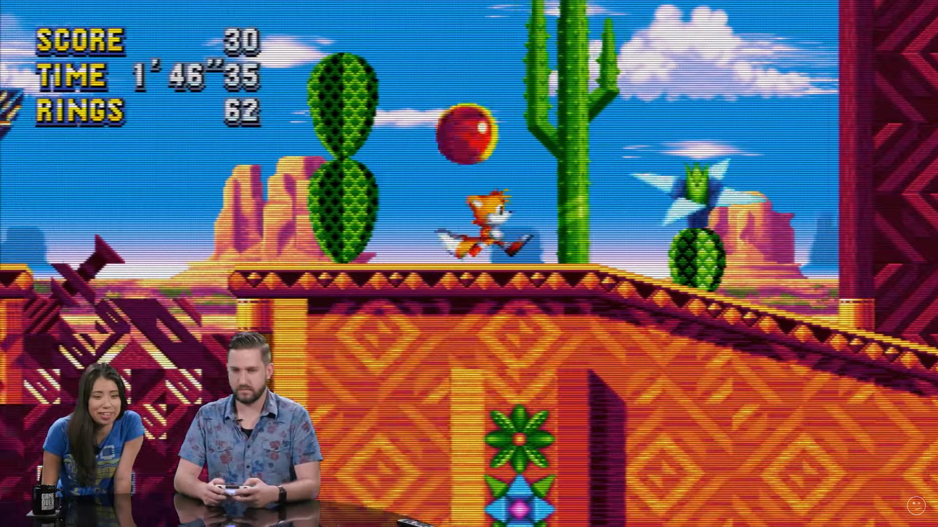 Tails, Knuckles y el nuevo escenario Mirage Saloon de Sonic Mania mostrados en vídeo