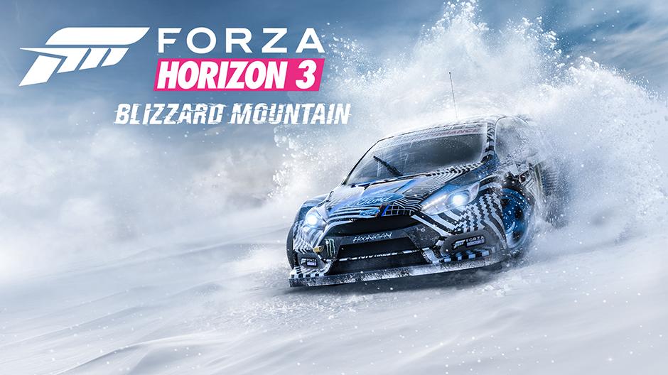 La expasión Blizzard Mountain de Forza Horizon 3 ya disponible para WIndows 10 y Xbox One