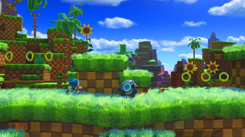 Primer gameplay de Sonic Forces mostrando Green Hill Zone