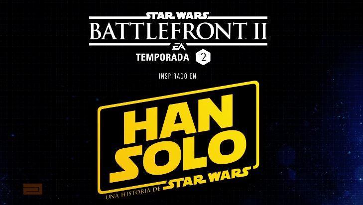 E3 2018: Electronic Arts, Star wars Battlefront 2, su expansión sobre Han solo.